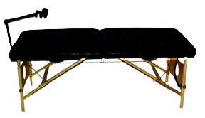 Massage Table Standing
